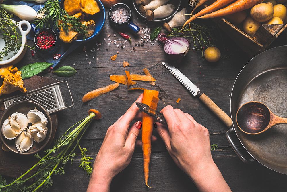 Cuisine active – atelier culinaire