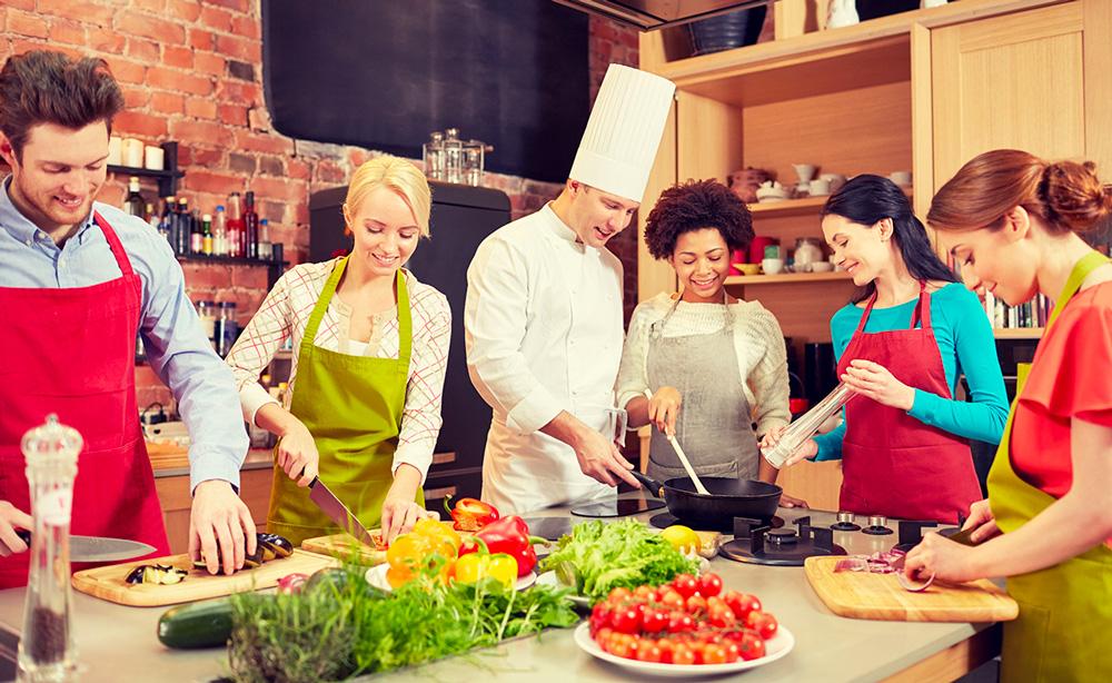 Atelier culinaire – cuisine active