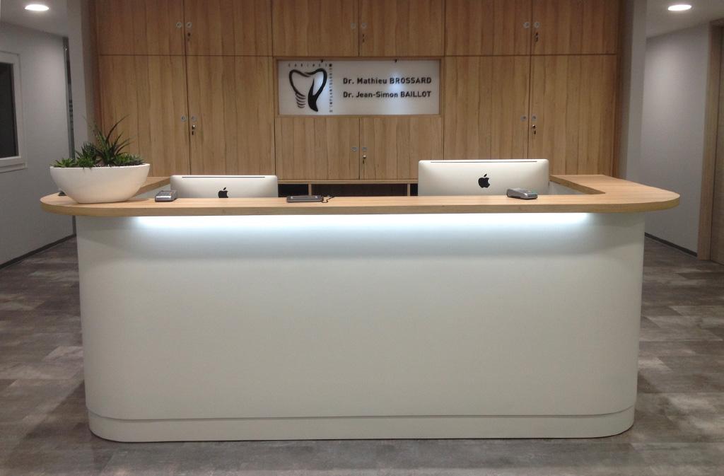 Desk accueil professionnel
