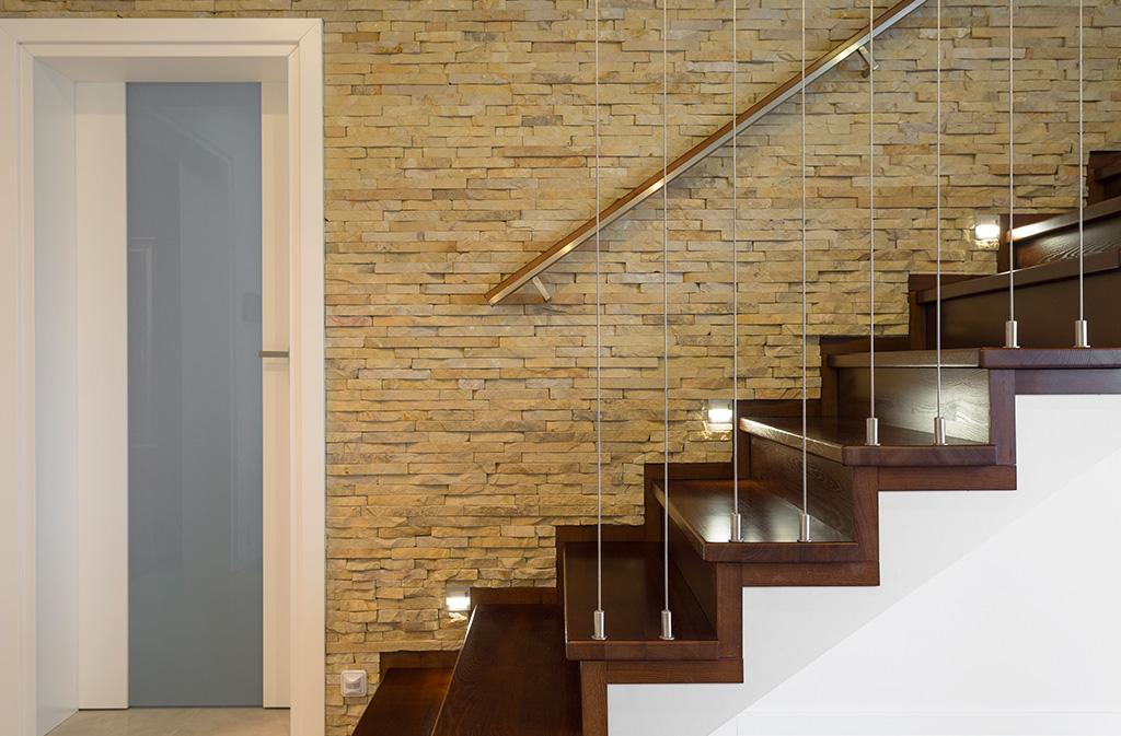 Escaliers habillage bois